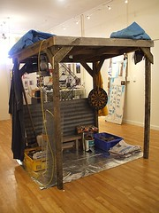 """Fale Peito"" by Glenda Vilisoni (2007) (Fresh Gallery Otara) Tags: niue southauckland pacificart freshgalleryotara glendavilisoni"