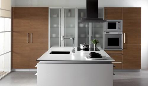 Tendencia en cocinas modernas 2013 mundoarquitectura - Cocinas porcelanosa precios ...