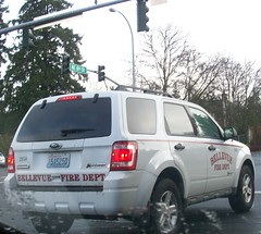 Bellevue F.D.on Patrol (rjgivnin Sr) Tags: ford fire escape hybrid bellevue dept
