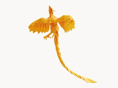 Phoenix (Al3bbasi.) Tags: phoenix paper origami mythical kamiyasatoshi al3bbasi