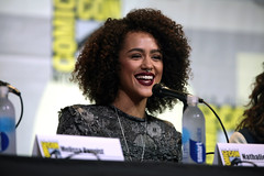 Nathalie Emmanuel (Gage Skidmore) Tags: connie nielsen ming na wen morena baccarin melissa benoist nathalie emmanuel tatiana maslany lucy lawless san diego comic con international california convention center ew entertainment weekly women who kick ass