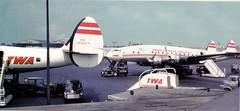 Chicago Midway Airport - TWA - Lockheed Constellations (twa1049g) Tags: chicago midway airport twa lockheed constellation 1955 n6908c