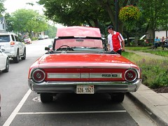 1964 Galaxie Convertible (ilgunmkr - Thanks for 4,000,000+ Views) Tags: cruisenight carshow frankfortillinois willcountyillinois ford galaxie 1964 convertible 390 4speed illinois