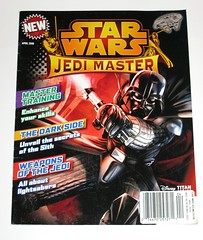 star wars jedi master issue 3 april 2016 magazine titan comics titan magazines (tjparkside) Tags: star wars jedi master titan comic comics magazine magazines 2016 issue three 3 new disney may april ben obiwan kenobi obi wan anakin skywalker darth vader sith lightsaber lightsabers millennium falcon training dark side weapon weapons
