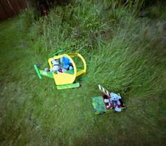 """Harvest"" (wheehamx) Tags: soft toy adventure pinhole harvest brambles relative movement"