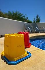Spain 2016 - 26 July 2016 - Nokia Lumia 1020 - Buckets by the Pool (TempusVolat) Tags: gareth wonfor tempusvolat garethwonfor tempus volat mrmorodo holiday spainholiday spain 2016 spain2016 vacance summer bucket buckets bythepool pool bluesky nokia lumia 1020 cameraphone