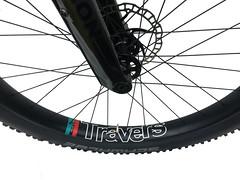 RUSSTI-front-wheel (Travers Bikes) Tags: boost titanium frame travers mtb russti 275 650b traversbikes rim lauf laufforks xt