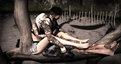 feeling safe with you (Fraegy) Tags: secondlife photo new sl pic hot virtuel