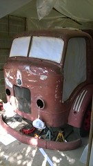Commer Restoration (Rootes75) Tags: commer rootes vintage lorry classic restoration coachpaint