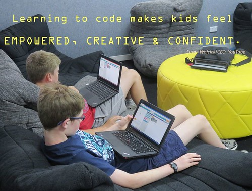 Quote - Learning to Code by rhondda.p, on Flickr