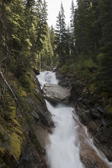 Rocky Falls (s_jenkV2) Tags: purcell bugaboo mountain wildernss canada kootenay moutnains mtns reange wilderness protected land forest icre rock snow trees summer seaon weather sunny explore camp hike climb adventure push limits canon 70d
