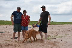 PEI - 2016-07-0084a (MacClure) Tags: canada pei princeedwardisland littleharbour beach family patty lindsay dog