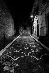 Bovino, Puglia, Italy (Davide Tarozzi) Tags: bovino puglia italy apulia night nightshot notte notturna notturno bw borghipibelliditalia perspective prospettiva