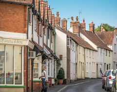 Lime street in the pretty village of  Nether Stowey, Somerset (Anguskirk) Tags: cottages england houses limestreet netherstowey somerset town uk thepoetsamueltaylorcoleridge