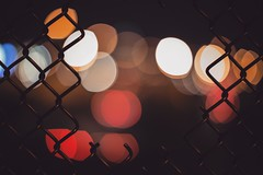 (Blockshadows) Tags: nightowl canon moody muted downtown nightscape nightphotography colorado denver fence tones lights citylights canon50mmf12 50mm12 50mmf12 50mm bokeh