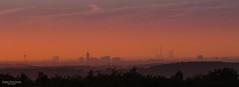 Sunset skyline - Essen, Germany (Zaphod Beeblebrox 1970) Tags: ennepetal essen ruhr ruhrgebiet sky silhouette sun sonnenuntergang sunset sonne germany gebude