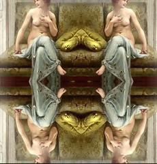 2016-08-23 symmetrical French nude paintings 4 (april-mo) Tags: french nu nude painting symmetry symmetrical collage art woman womanportrait portrait