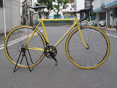 IMG_9963 (EastRiverCycles) Tags: eastrivercycles  vivalo  kusaka  road   handmadebicycle reproductsproject ecostronglight filletbrazed   vfr  simworks  chrisking 2016   bicycle  tokyo