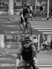 [La Mia Citt][Pedala] (Urca) Tags: milano italia 2016 bicicletta pedalare ciclista ritrattostradale portrait dittico nikondigitale mir bike bicycle biancoenero blackandwhite bn bw bnbw 881139