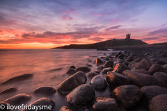 Dunstanburgh Dawn (ilovefridaysme) Tags: northumberland sony a7r11 leefilters sunrise dawn dunstanburghcastle embletonbay