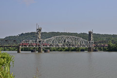 AM32_FtSmithLocal_FtSmithAR_ArkansasRiver_01_web (fullreversal) Tags: 32 am ar alco ftsmith arkansasriver drawbridge local