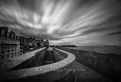 Saint Malo (http://arnaudballay.wix.com/photographie) Tags: 2016 mer nikond610 vacances saintmalo bretagne france montsaintmichel illeetvilaine brittany beach plage ocean stair escalier nisifilter bigstopper fstopper nd1000 leefilter