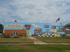The Trenton Mural (jimmywayne) Tags: tennessee gibsoncounty trenton historic mural