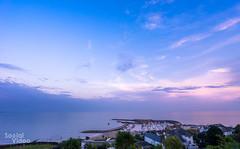 Sunset from Hix (ocadoo) Tags: landsend cornwall saintives lymeregis sea beach icecream