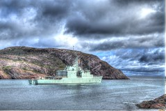 HMCS Athabaskan Almost Gone (Ross A Craig) Tags: stjohnsnewfoundland canadian navy united states hmcs fredericton athabaskan signal hill