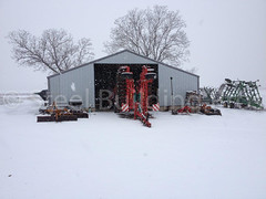 photo 1 (3).jpg (Steel Building Pros) Tags: agriculture storage steekbuildinggarage straightwall snow