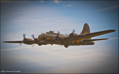 BOEING B-17G FLYING FORTRESS (Wings & Wheels Photography.) Tags: england canon wwii duxford dslr flyingfortress bdp cambridgeshire worldwar2 2012 imperialwarmuseum iwm sallyb usaaf wwiibomber boeingb17g 8thairforce aviationphotography canoneos7d americanairday bluediamondphotographic bluediamondaviation