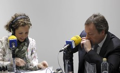 Joyería Suiza en Radio Vigo (3) (Joyería Suiza) Tags: en radio suiza pato manuel ser noelia entrevista entrevistas otero joyería