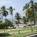 La spiaggia accanto al Forte di San Fernando de Bocachica