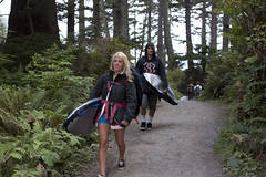 9521.2 Surf Couple (eyepiphany) Tags: beach oregon manzanita oldgrowth smugglerscove oswaldstatepark oregonbeaches manzanitaoregon shortsandsbeach summerlife shortsandbeach surfculture surfingcouple twilightsurfers oregontourism surfingspot littlesurfergirl surftribe tappingthesource bestplacestosurf bestplacestosurfinoregon oregonbeachtowns hotsurfingspots afteradayofsurf surfertrail