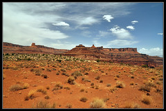 Dead Hore Point from the Shafer Trail Road (gamelle71) Tags: sky horse usa point landscape dead utah desert canyon trail ciel gorges paysage etatsunis canyonland schafer nikond90