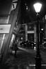(SpeNoot) Tags: street bw rain night budapest wait nocrop eső vár tér kálvin éjszakai