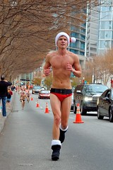 Atlanta Santa Speedo Run 2012 (TimothyJ) Tags: santa christmas xmas atlanta ga georgia atl run midtown speedo