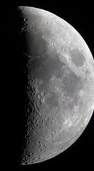 Waxing crescent moon (ComputerHotline) Tags: sky moon france mountains night lune space satellite crescent craters ciel crater astrophotography croissant quarter astronomy universe objet nuit digiscoping espace franchecomté solarsystem fra belfort objets montagnes quartier gibbousmoon astronomie univers cratère afocal astrophotographie céleste cratères astre digiscopie systèmesolaire astres célestes lunegibbeuse
