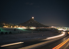 Castle Rock at Night (shawnblanc) Tags: night colorado clear epl5