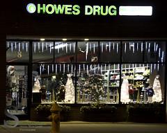 Milford festive, Howes Drug Store-7988 (Singing With Light) Tags: city festive photography december pentax milford 2012 k5 jjp singingwithlight