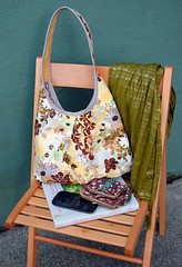Runaround Bag (Jenelle@E&A) Tags: sewing echo moda purse tote origins sewn appleofmyeye runaroundbag