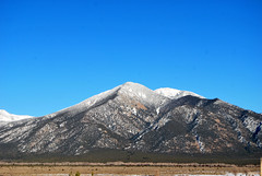 Taos,N.M. Afternoon (Lochaven) Tags: winter mountains newmexico southwest taos