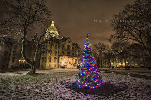 Merry Christmas from Notre Dame | explored #327 12/21/12
