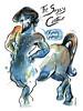 The Sassy Centaur (Leviathan League) Tags: gay ink watercolor painting artwork hunk mythology pinup centaur beardillustration