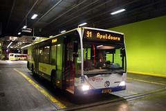 Veolia 5421 (BP-SL-61), Busstation Arnhem (Jannick Bolten) Tags: mercedesbenz veluwe citaro bpsl61