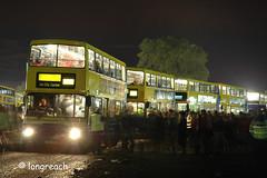 Oxegen 2007. (Longreach - Jonathan McDonnell) Tags: ireland night nightime oxegen 2007 olympian dublinbus volvoolympian oxegenfestival busathacliath rv432 98d20432