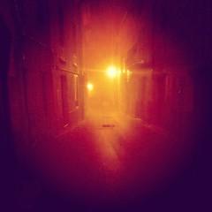 Noche de Niebla (Miquel Salas   EA6QN) Tags: noche calle mallorca farolas niebla boira pollena flickrandroidapp:filter=none