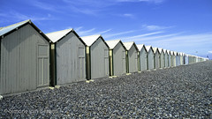 """Row of beach huts • <a style=""""font-size:0.8em;"""" href=""""http://www.flickr.com/photos/44019124@N04/8309920377/"""" target=""""_blank"""">View on Flickr</a>"""