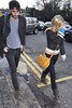 MTV Presenter Laura Whitmore and her on and off boyfriend Danny O'Reilly from The Coronoas are seen strolling through Dublin Dublin