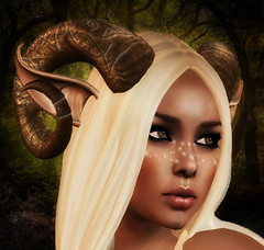 enchanted forest (Shadwell Lykin) Tags: fairy secondlife faery faun fae virtualworlds